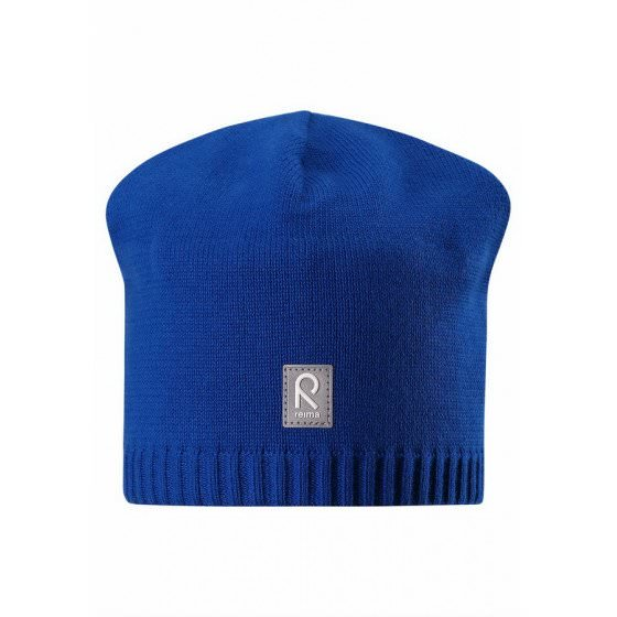Демисезонная синяя шапка-бини Reima - Рейма Haapa 528581