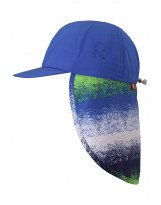 Панама синяя шапка с защитой от солнца Reima Alytos