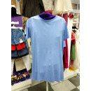 Летнее голубое платье - футболка для девочки Flash/Флеш