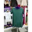 Летнее зеленое платье - футболка для девочки Flash/Флеш