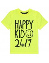 Летняя яркая футболка с надписью для мальчика George