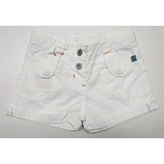 Хлопковые белые шорты с подворотами Motion - Моушен