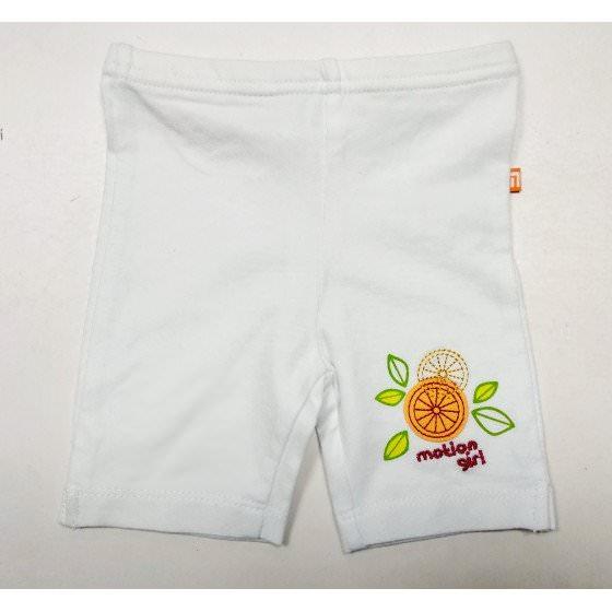 Хлопковые белые шорты для самых маленьких Motion - Моушен