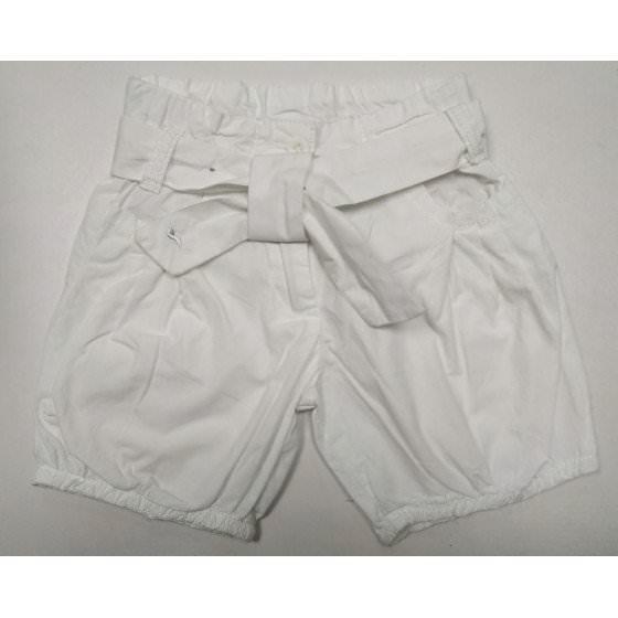 Хлопковые белые шорты-фонарики EFR girls