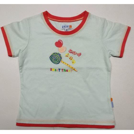 Хлопковая летняя футболка для девочки Motion/Моушен