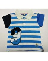 Летняя хлопковая футболка в полоску Motion/Моушен