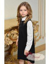 Школьное черное платье Viani / Виани
