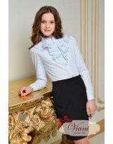 Школьная черная юбка - карандаш Viani / Виани / Модные Детки