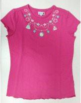 Хлопковая летняя футболка с принтом для девочки Motion/Моушен