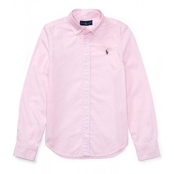 Школьная рубашка с длинным рукавом Ralph Lauren/ Ральф Лоурен