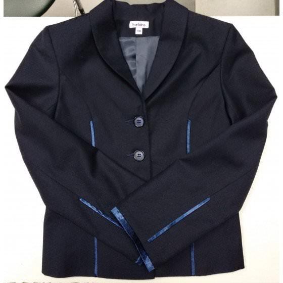 Пиджак школьный темно-синий Frantolino/Франтолино