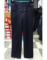 Школьные брюки темно-синего цвета  Frantolino/Франтолино
