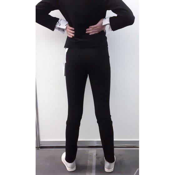 Черные школьные брюки скини Viani / Виани МД569