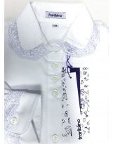 Школьная блуза длинный рукав Frantolino 1224-136