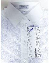 Школьная блуза длинный рукав Frantolino 1219-136