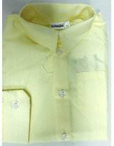 Рубашка лимонно-кремовая с длинным рукавом Bebepa