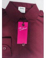Рубашка цвета бордо с длинным рукавом Bebepa