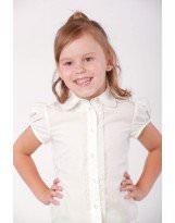 Школьная блузка с коротким рукавом Viani / Виани / Модные Детки