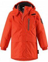 Куртка парка оранжевая зимняя удлиненная - LASSIE BY REIMA