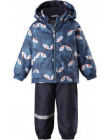 Костюм - комплект синий зимний куртка + полукомбинезон Lassie by Reima