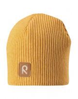Зимняя желтая шапка-бини Reima - Рейма Birdy 528590