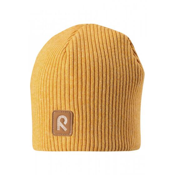 Зимняя желтая шапка-бини Reima - Рейма Birdy 528590/2510