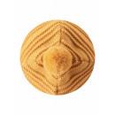 Желтая шапка-бини зимняя с завязками Reima - Рейма 518480/2510