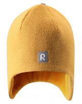 Зимняя желтая шапка-бини Reima - Рейма Birdy 528594