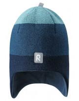 Зимняя сине-голубая шапка-бини Reima - Рейма Birdy 528594