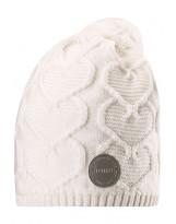 Белая зимняя шапка-бини Reima - Рейма Naasko 528599