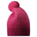 Малиновая зимняя шапка-бини Reima - Рейма Luola 528601/3600