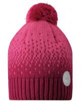 Малиновая зимняя шапка-бини Reima - Рейма Naasko 528601