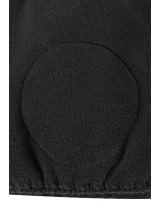 Черная зимняя шапка-бини Reima - Рейма Luola 528601/9990
