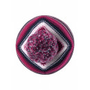 Малиновая зимняя шапка-бини Reima - Рейма Hurmos 528608