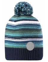 Сине-зелёная зимняя шапка-бини Reima - Рейма Hurmos 528608