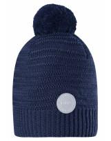 Темно-синяя зимняя шапка-бини Reima - Рейма Hurmos 528608