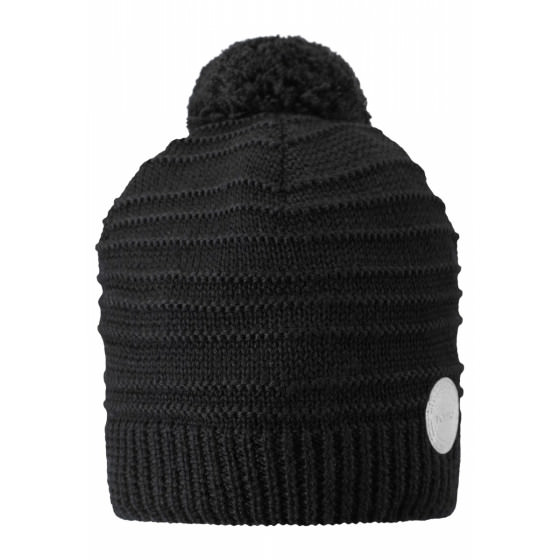 280016e93066d Купить черную зимнюю шапку reima - рейма Hurmos 528608/9990 магазин ...