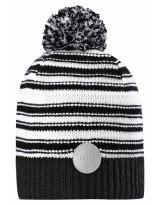 Черно-белая шапка-бини Reima - Рейма Hurmos 528608