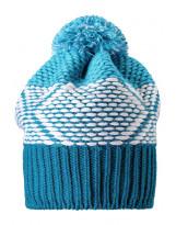 Синяя зимняя шапка-бини Reima - Рейма Mikku 538043