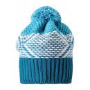 Синяя зимняя шапка-бини Reima - Рейма Mikku 538043-7910