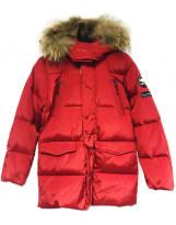 Красный зимний пуховик Lenne - Ленне куртка ROSTER 18569