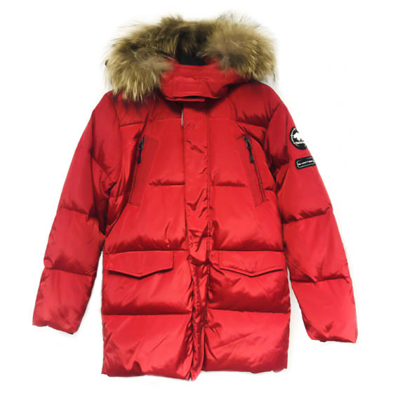 Красный зимний пуховик Lenne - Ленне куртка ROSTER 18569/613