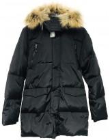 Черный зимний пуховик Lenne - Ленне куртка ROSTER 18569