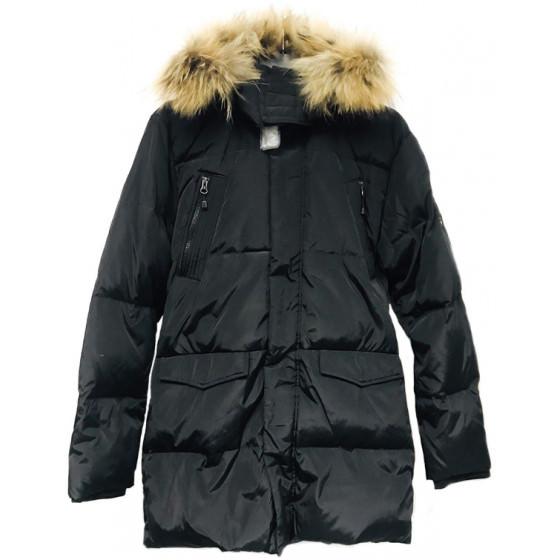 Черный зимний пуховик Lenne - Ленне куртка ROSTER 18569/042