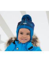 Зимняя шапка с завязками Lenne - Ленне GARRY 18375