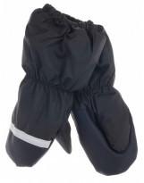 Зимние черные рукавицы краги Lenne Active