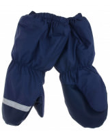Зимние темно-синие рукавицы краги Lenne Active
