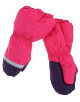Малиновые зимние рукавицы краги Lenne Active