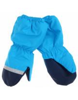 Зимние светло-синие рукавицы краги Lenne Active