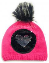 Зимняя малиновая шапка Lenne - Ленне MIA 18393A